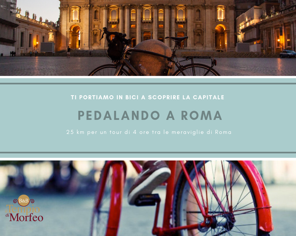 Tour in bici di Roma